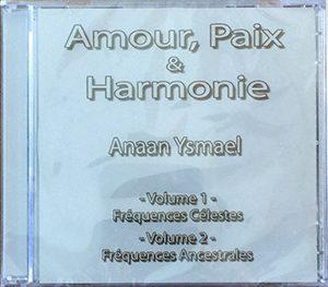 Amour, Paix and Harmonie CD